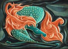 Cheval courant - conte de fées illustration de vecteur