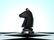 Cheval d'échecs Images libres de droits