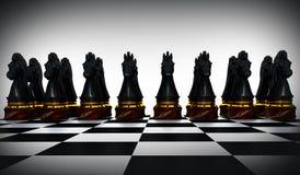 Cheval d'échecs Images stock
