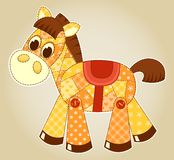 Cheval d'application Image stock
