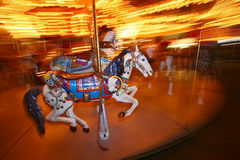 Cheval de carrousel Photo stock