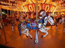 Cheval de carrousel Photographie stock