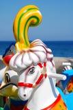 Cheval de carrousel Photographie stock libre de droits