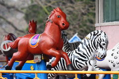 Cheval de carrousel Images stock