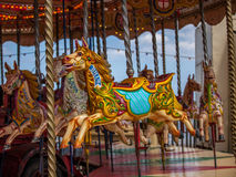 Cheval de carrousel Images libres de droits