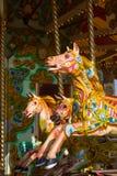 Cheval de carrousel Image libre de droits