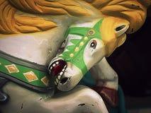 Cheval de carrousel de carnaval image libre de droits