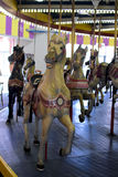 Cheval de carrousel de vintage Photo stock