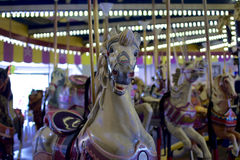 Cheval de carrousel de vintage Photographie stock