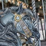 Cheval de carrousel de parangon photo libre de droits