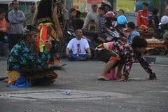 Cheval de danse Photo stock