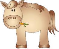 cheval de dessin animé illustration de vecteur