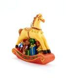 Cheval de jouet Photographie stock