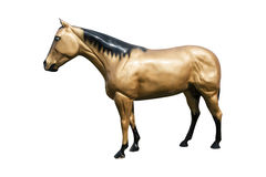 Cheval en plastique Images stock