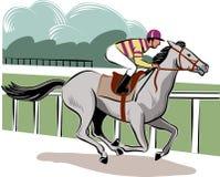 Cheval et cavalier illustration libre de droits