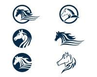 Cheval Logo Template Vector Photo stock