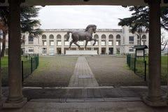 Cheval Milan, Milan, expo2015 de Léonard de Vinci Photo stock