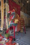 Cheval sacré de festival affamé chinois de LAN de Ghost Yu Images stock