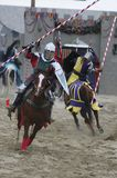 Chevalier à cheval Photo stock