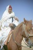 Chevalier. Culture du désert,les chevaliers amazigh de la Tunisie Royalty Free Stock Photos