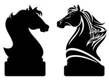Chevalier d'échecs Photos stock