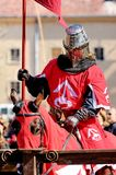 Chevalier d'équitation Images libres de droits