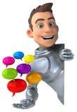Chevalier d'amusement Images stock