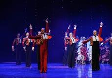 Chevalier de danse du monde de l'Autriche gloire-espagnole de flamenco-le Images stock