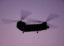 Chevalier de mer de CH-46 de Boeing Vertol Images stock