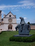 Chevalier Francis, Assisi, Italie photos stock