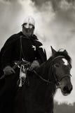 Chevalier médiéval de rue John (Hospitaller) Photographie stock libre de droits