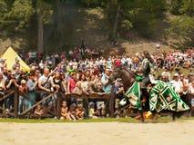Chevalier médiéval Horse Festival Image libre de droits