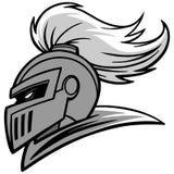 Chevalier Sports Mascot Illustration Photo libre de droits