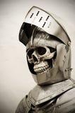 Chevalier squelettique Photo libre de droits