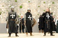 chevalier trois Photo stock