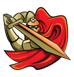 Chevalier Warrior Vector Illustration Images stock