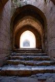 Chevaliers do DES de Krak, cruzados fortaleza, Syria Imagens de Stock