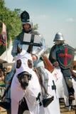 Chevaliers montés chez Grunwald Photographie stock libre de droits