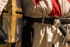 Chevaliers Templar Images libres de droits
