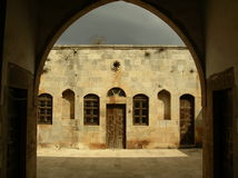 chevaliersdes-krak syria Royaltyfri Fotografi