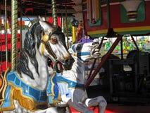 Chevaux de carrousel Image libre de droits