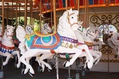 Chevaux de carrousel Photos libres de droits