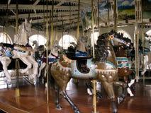 Chevaux de carrousel Photo libre de droits