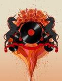 Chevaux de disco Image libre de droits