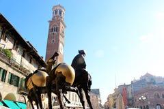 Chevaux italiens Images libres de droits