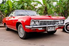 Chevelle Convertible classic car Stock Image