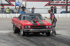 Chevelle drag car Royalty Free Stock Image