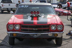 Chevelle front end Royalty Free Stock Photos