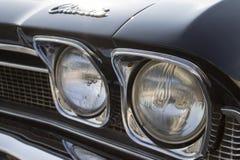 Chevelle headlights Royalty Free Stock Photos