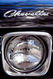 Chevelle Logo over Headlight Royalty Free Stock Images